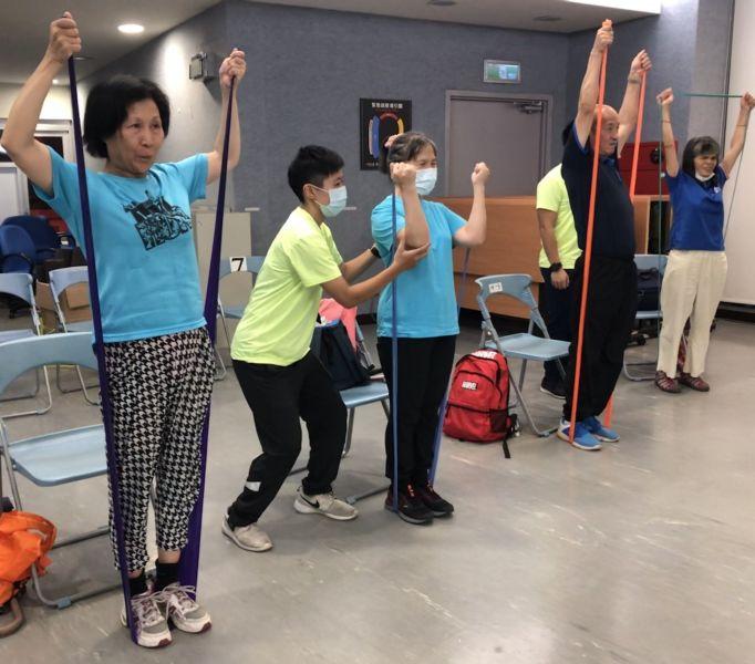 身心障礙者運動巡迴指導團。官方提供
