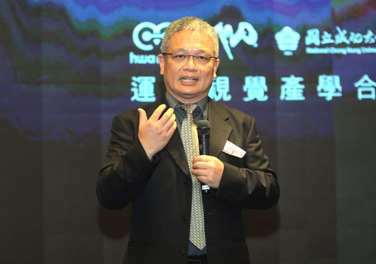 華美集團董事長陳志銘。720armour運動眼鏡/提供。