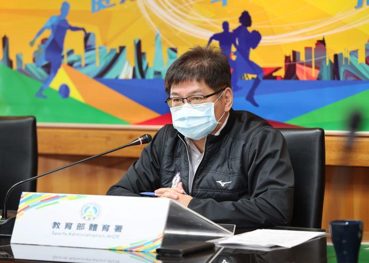 新任體育署副署長洪志昌。李天助攝