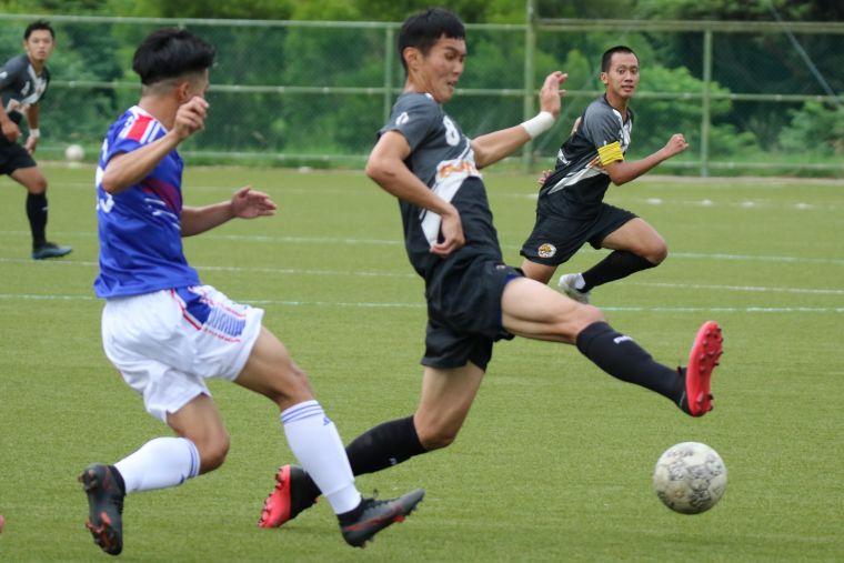 ACA中場涂紹捷與蔡孟辰接入選中華隊征戰世界盃資格賽。ACA提供