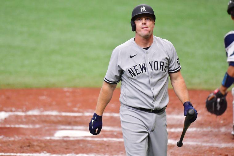 紐約洋基休賽季用小聯盟合約簽下老將布魯斯(Jay Bruce)卻突然宣布退休。法新社