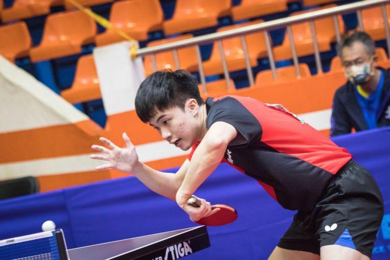 東奧選手林昀儒仍技高一籌。大會提供