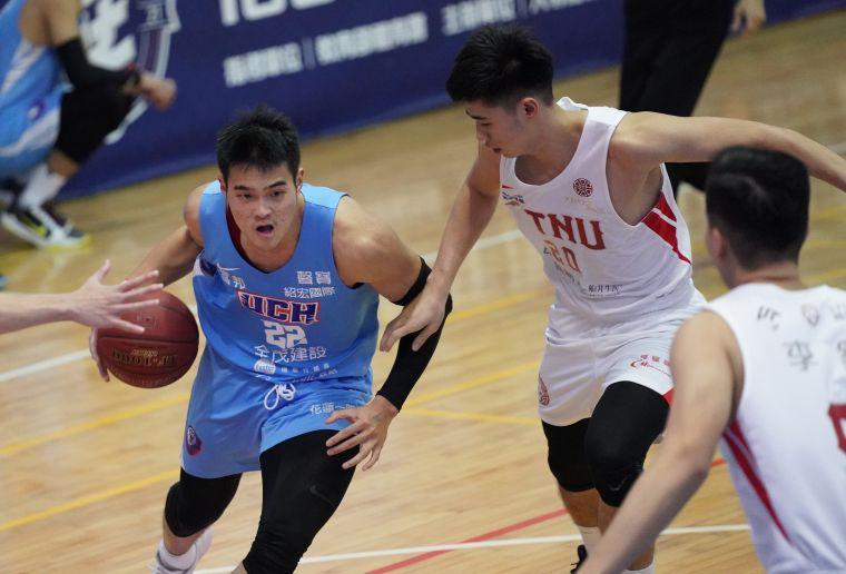 健行陳范柏彥26分9籃板。大會提供