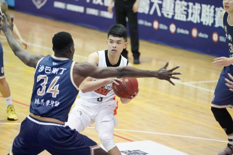 國體大陳俊男得全隊最高23分。大會提供