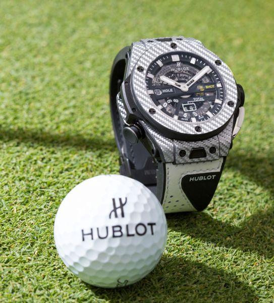 Big Bang Unico Golf 高爾夫腕錶。官方提供