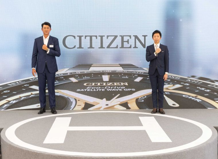 CITIZEN於今日(826)正式宣佈王建民再度出任CITIZEN台灣2021年男錶代言人。官方提供