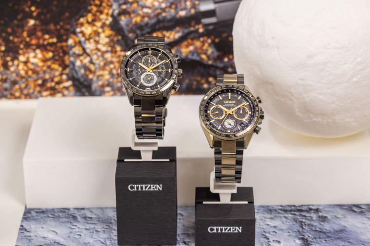 CITIZEN超級鈦製錶材質 ,參與世界首次商業月球探測計畫「HAKUTO-R」,一展登月級的高品質材質。官方提供