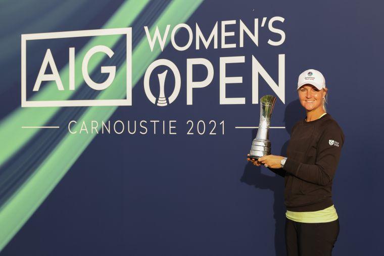 諾德奎斯特奪生涯第三座大滿貫冠軍。R&A提供