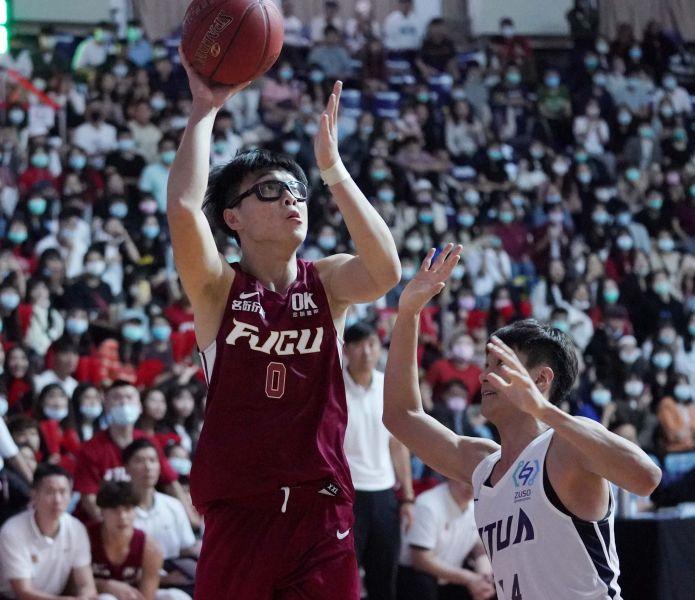 輔大喬楚瑜20分16籃板。大會提供