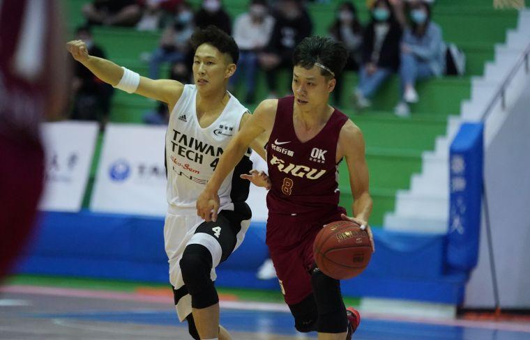 輔仁大學林哲霆攻下個人UBA生涯單場新高25分。大會提供