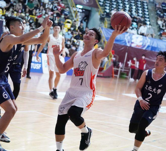 國體蘇志誠13分全隊最高。大會提供