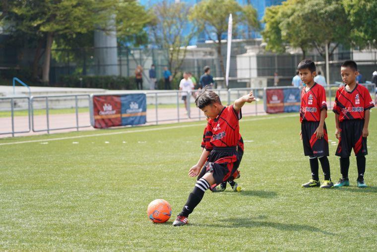 VIVA CUP 萬歲堅果盃少年足球賽今年共500多隊參賽。主辦單位提供