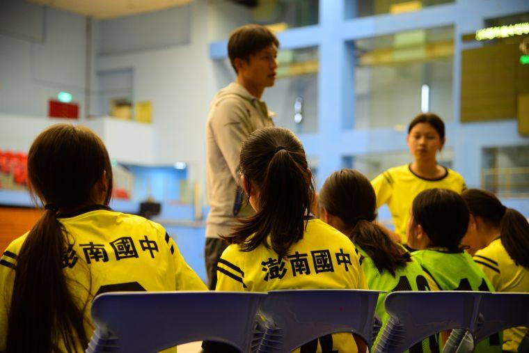 澎南國中全校僅56人。大會提供