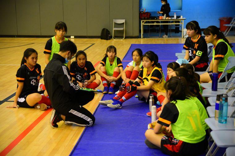 花崗教練認為孩子是未來職業化最大推手。(圖/張曜麟攝)