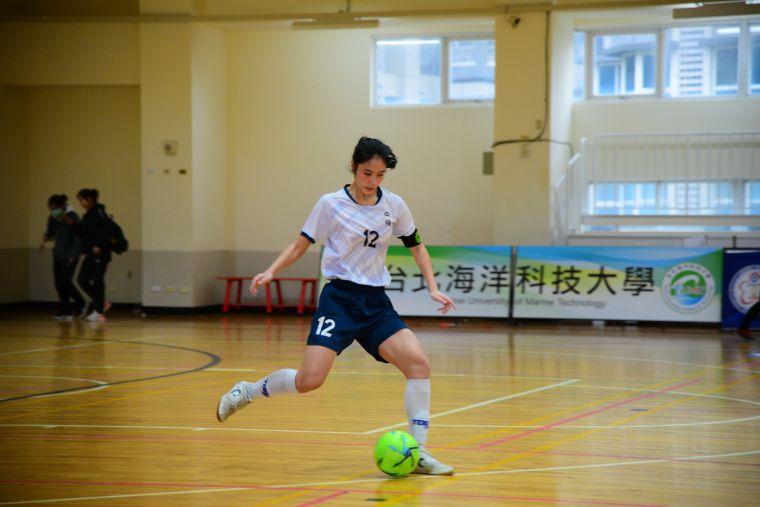 ▲林銘慧到高中重拾足球,未來盼進入國家隊。(圖/記者張曜麟攝,下同)