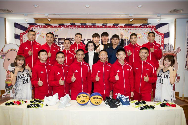 第一屆縣長盃3x3籃球推廣賽將於12月12-13日舉行。大會提供