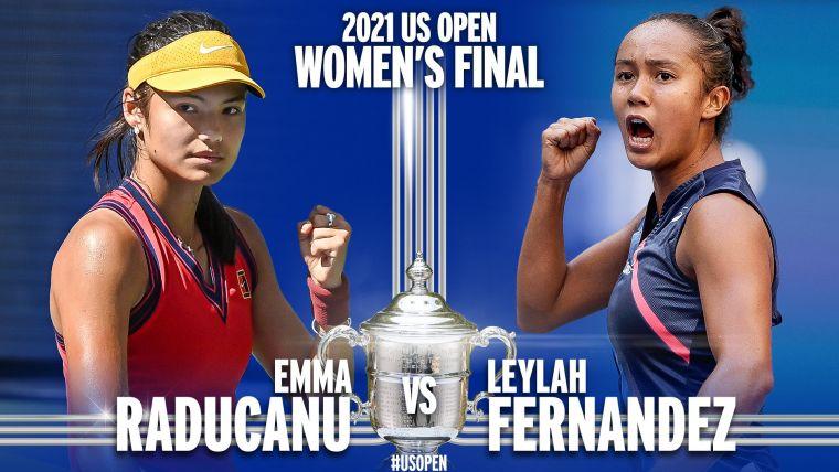 今年美網女單將由青少女球員對決爭冠。摘自美網推特