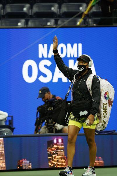 大坂直美大滿貫連勝紀錄被中止。摘自美網推特