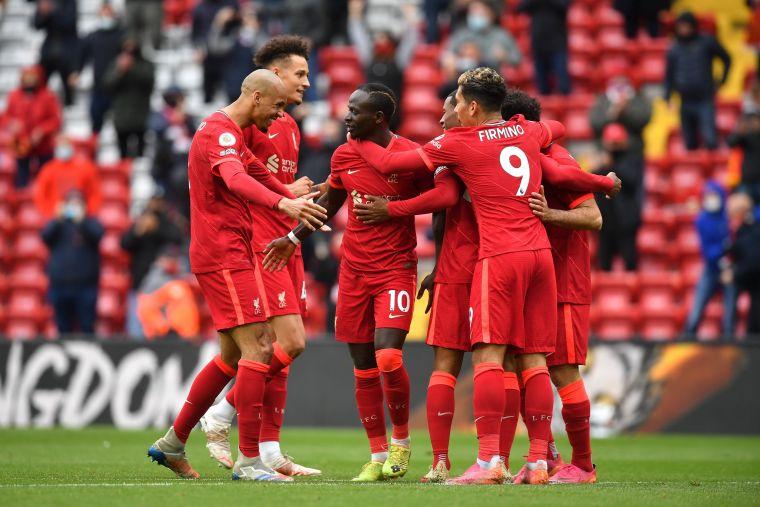 利物浦靠馬內進球奪下第3。摘自利物浦推特