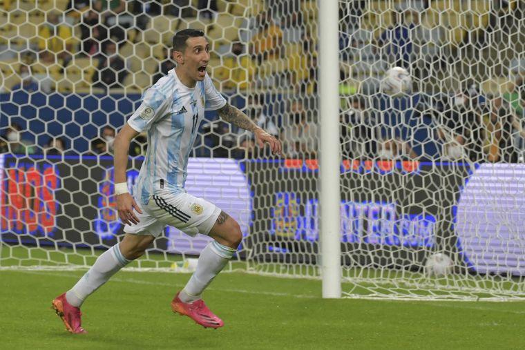 狄馬利亞射進致勝球。摘自官方推特