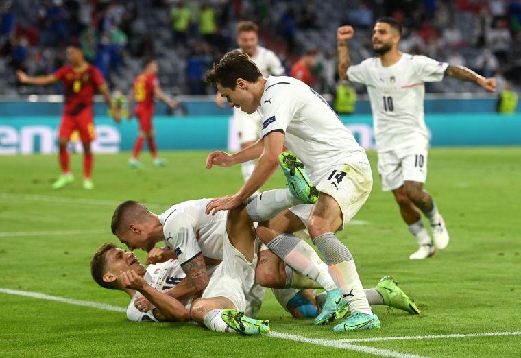 義大利踢下13連勝。摘自官方推特