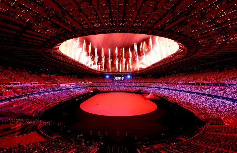 日東京奧運開幕典禮。摘自官方推特