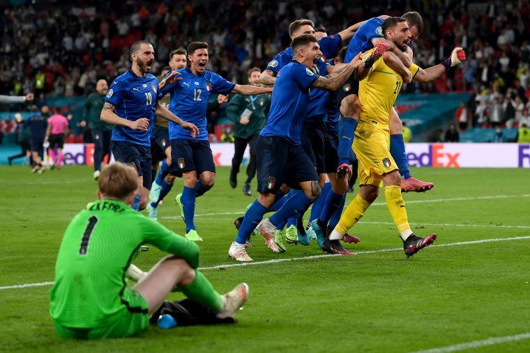 義大利靠PK奪下歐國盃冠軍。摘自官方推特