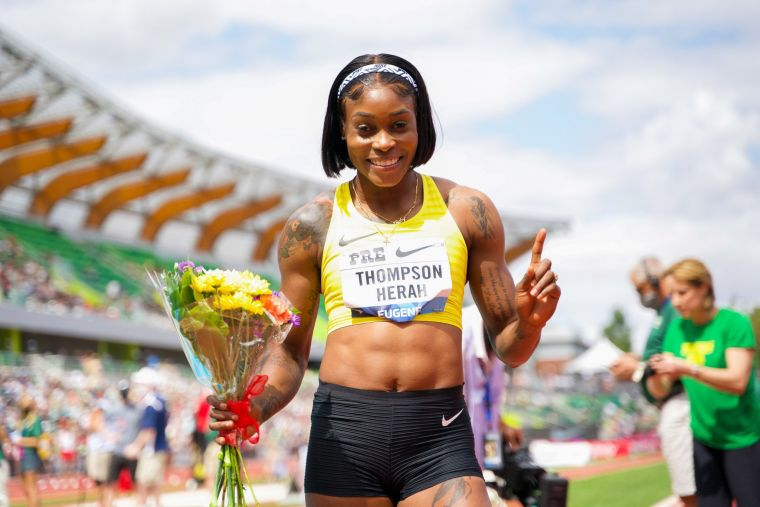 湯普森已經是全球最速女。摘自湯普森推特
