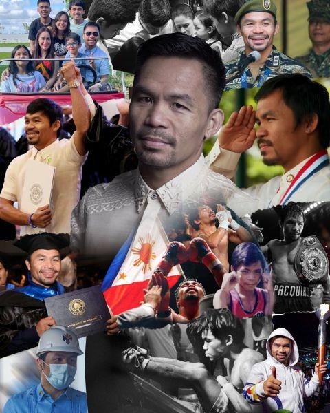 帕奎奧來自基層有不少中下階層的民眾支持。摘自帕奎奧推特