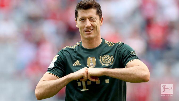 萊萬多夫斯基以7個進球獨佔德甲進球榜首。摘自拜仁慕尼黑推特