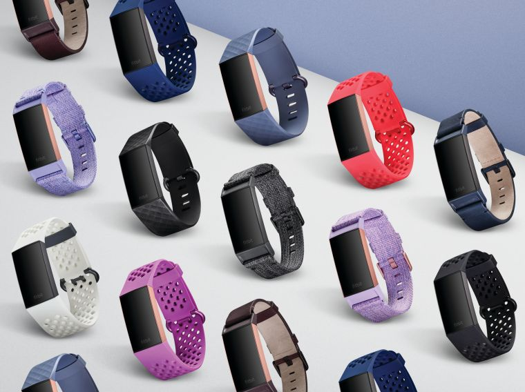 Fitbit_Charge_3_搭配15種自設目標的運動模式。