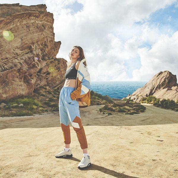 Gigi將運動的功能與時尚潮流融合,打造出全新系列商品。官方提供