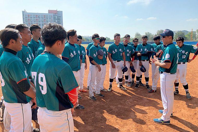 108大專棒球聯賽,遠東科大預賽首勝開張。大會提供