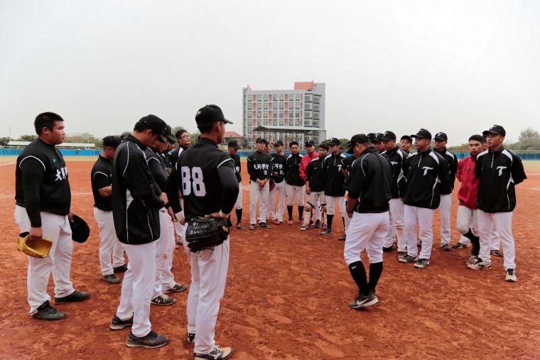 108大專棒球聯賽,大同收下預賽首勝。大會提供