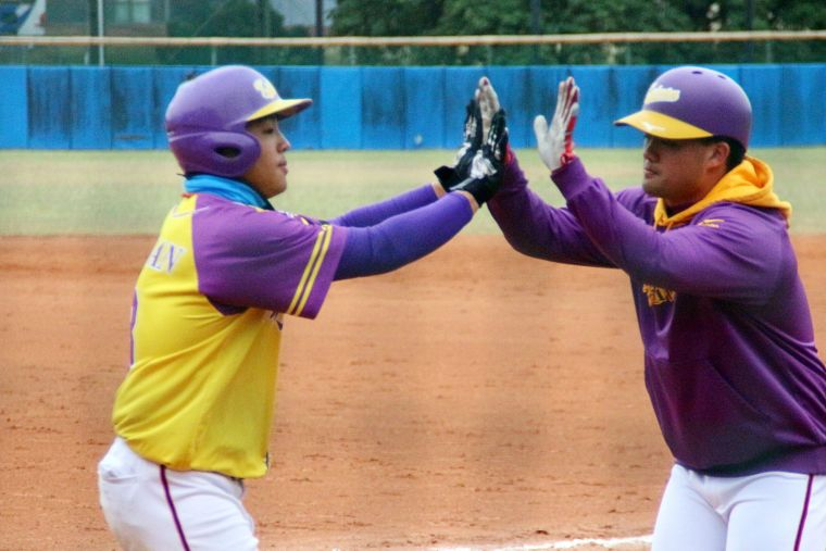 大專棒球聯賽,開南大學逆轉擊敗北市大。大會提供