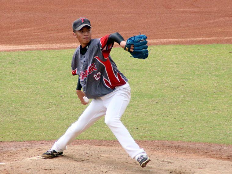 大同學院先發投手陳理安。