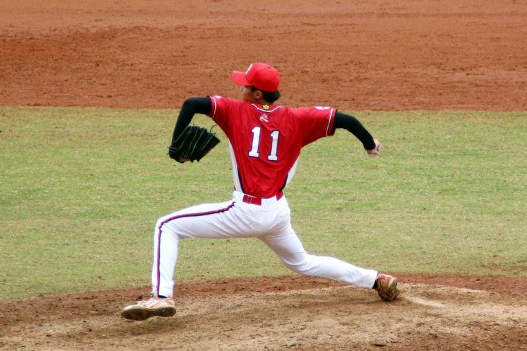 南華投手李子強守住勝利。大會提供