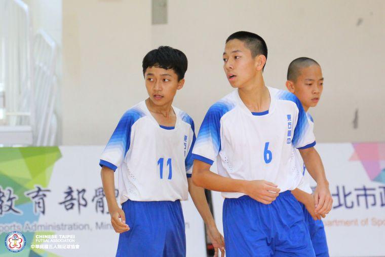 ▲東石教練認為場地變小對體力是優勢。(圖/中華民國五人制協會提供,下同)