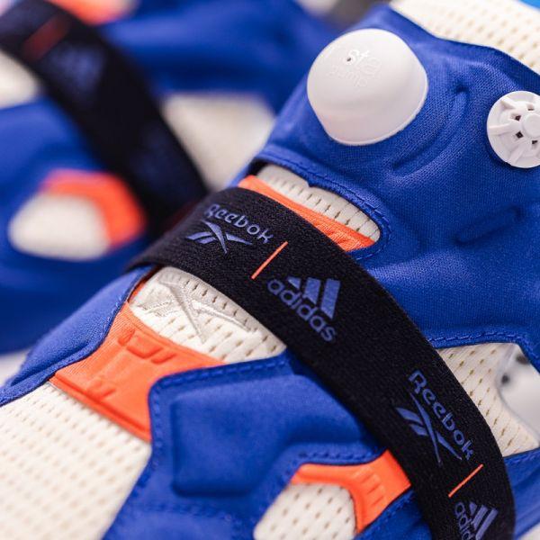 Instapump Fury的原型減少了鞋款的笨重感,並同時結合Pump 充氣科技於鞋面上,重新定義了運動鞋的功能。官方提供