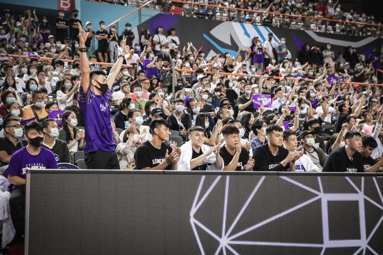 今(17)日共湧進8068位球迷進場應援。大會提供