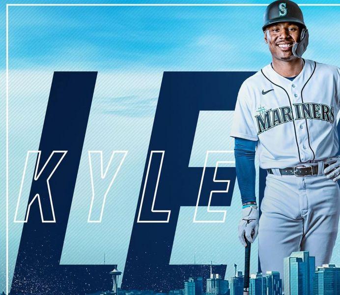 美聯由西雅圖水手路易斯(Kyle Lewis)獲得30張第一名選票獲得2020年新人王。摘自路易絲IG
