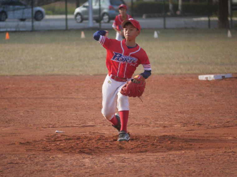 波特少棒是來自雙北的社區棒球隊。吳敏欣攝