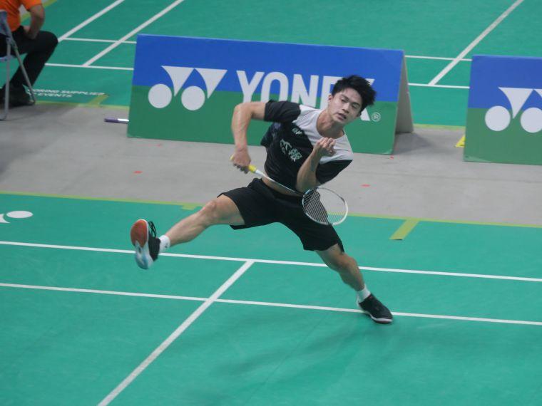 劉韋奇才剛在8強才淘汰第一次全排冠軍的林俊易。詹健全攝