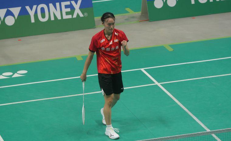 去年改為專職的許玟琪二度晉級女單決賽。詹健全攝
