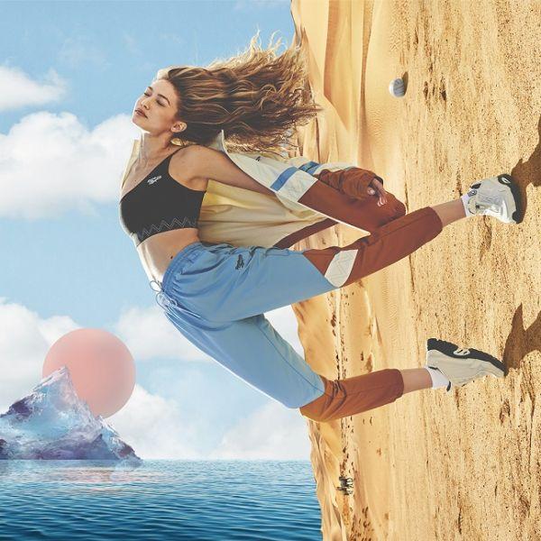 REEBOK × Gigi Hadid聯名系列設計元素包含了Gigi的無畏態度和無窮無盡的熱誠,鼓勵人們無論身在何處,都可以體驗自己的冒險並擁抱大自然。官方提供