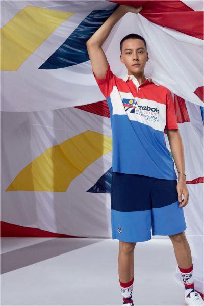 Reebok International Sports全系列復古潮流服飾 一次到齊 玩出穿搭新境界 Reebok代言人陳偉霆帥氣詮釋。官方提供