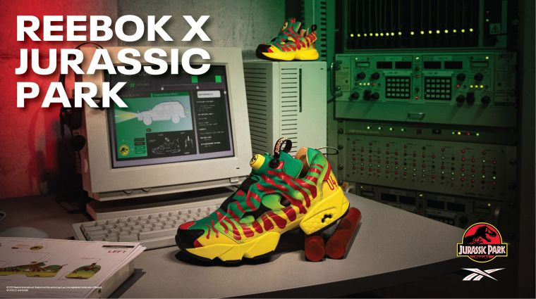 Reebok x Jurassic Park KV1。官方提供
