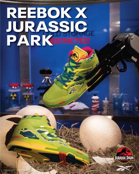Reebok x Jurassic Park KV3。官方提供
