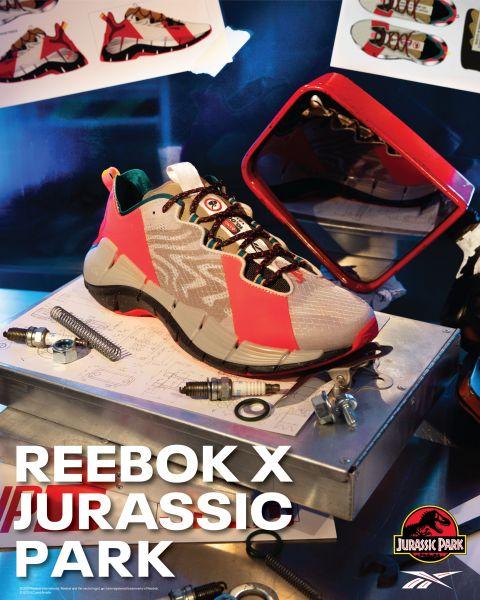 Reebok x Jurassic Park - PUMP OMNI ZONE II。官方提供