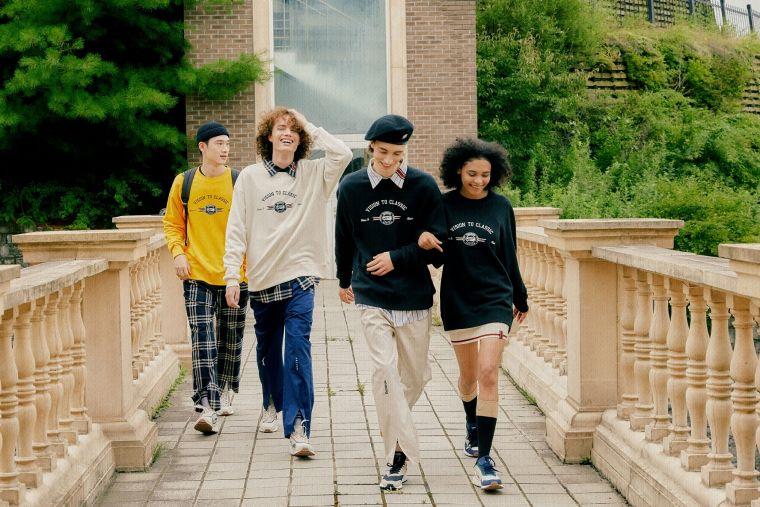 Reebok x Romantic Crown以常春藤聯盟為設計靈感 打造復古青春〝新學院風〞。官方提供
